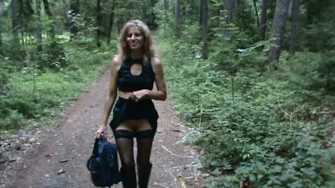 User im Wald verführt…