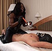 Kerzenwachs mit der BLACK Muscle Lady