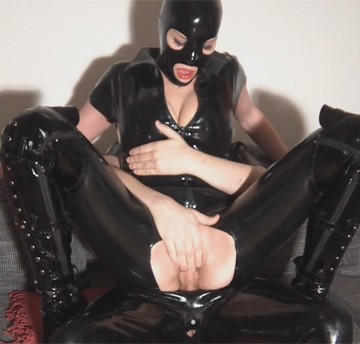 rubber fetish